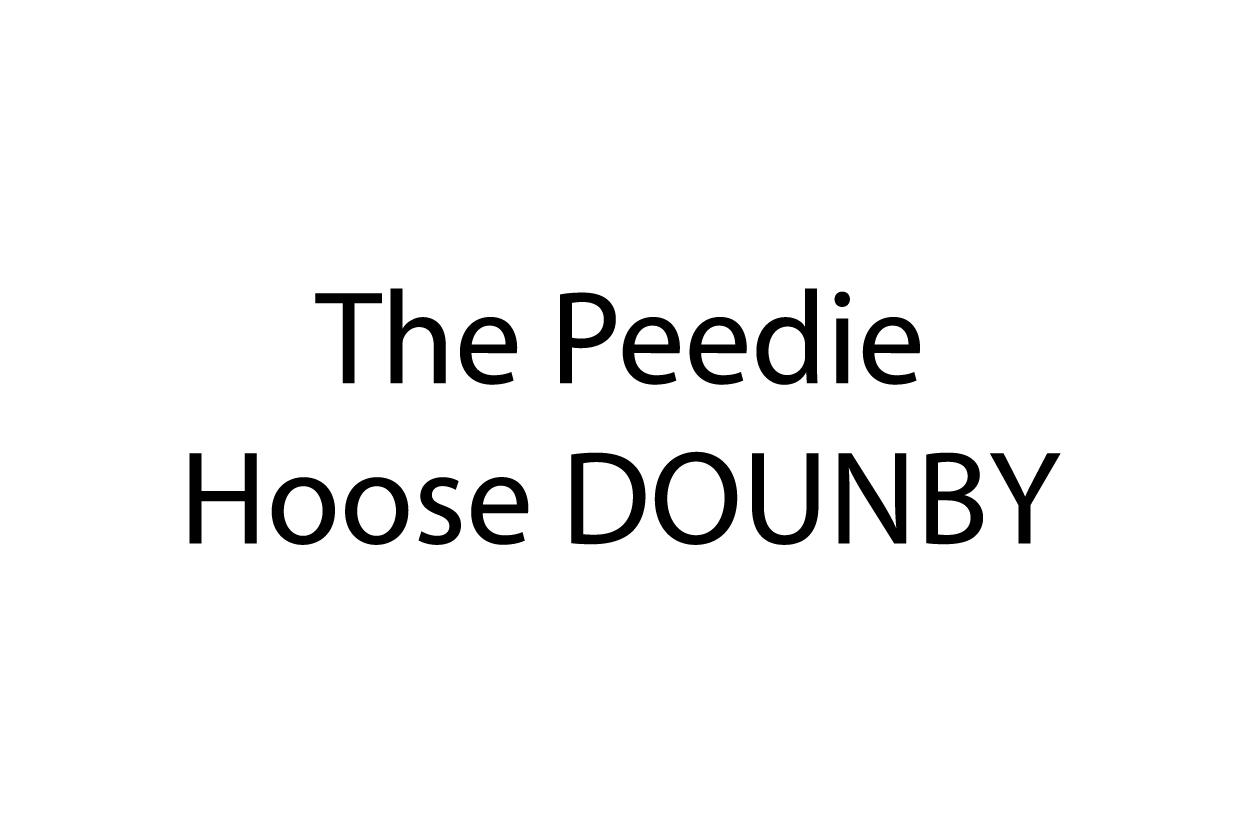 The Peedie Hoose Dounbie